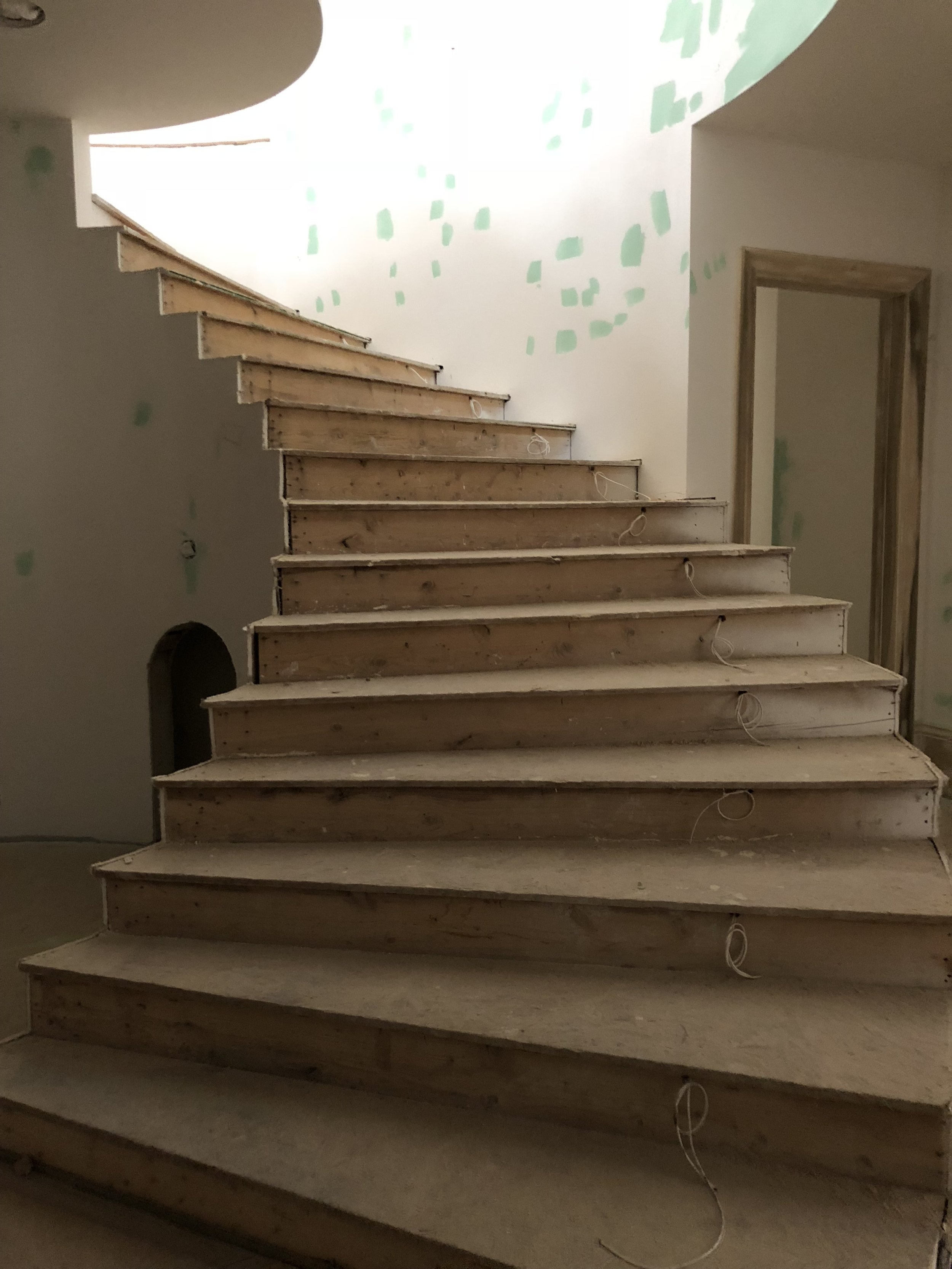 French Revival Project Sneak Peek At The Stairs And Basement | Stairs Down To Basement | Ranch House | Animated | Outside | Creepy | Funny