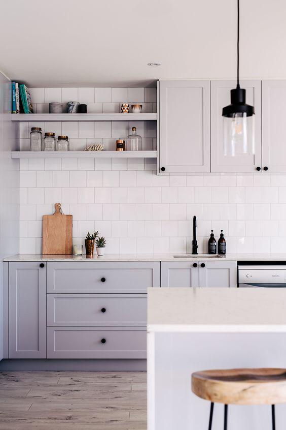 square kitchen backsplash tile