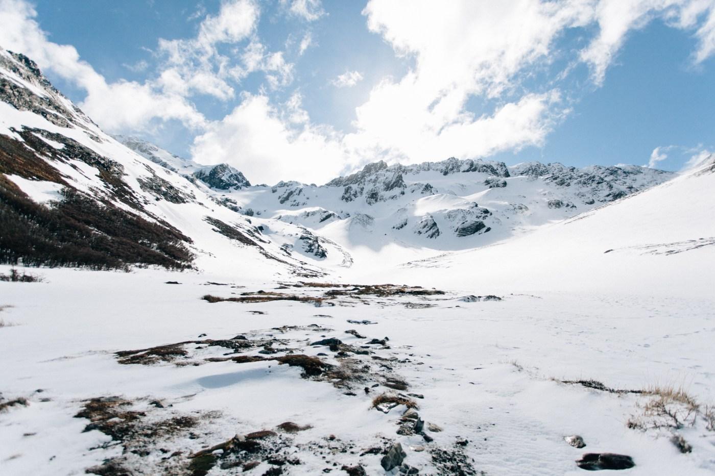 Conhecendo o Glacial Martial no Ushuaia - Eduardo & Mônica