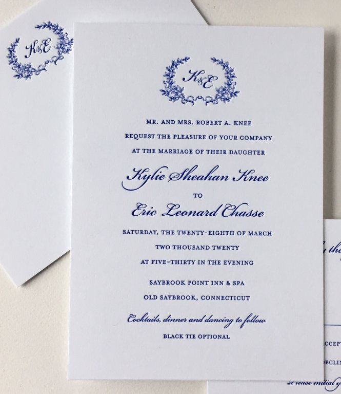 Invitations Sesame Letterpress Blog
