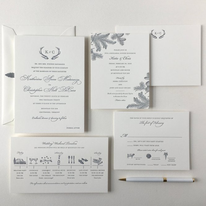 Wedding Sesame Letterpress Blog