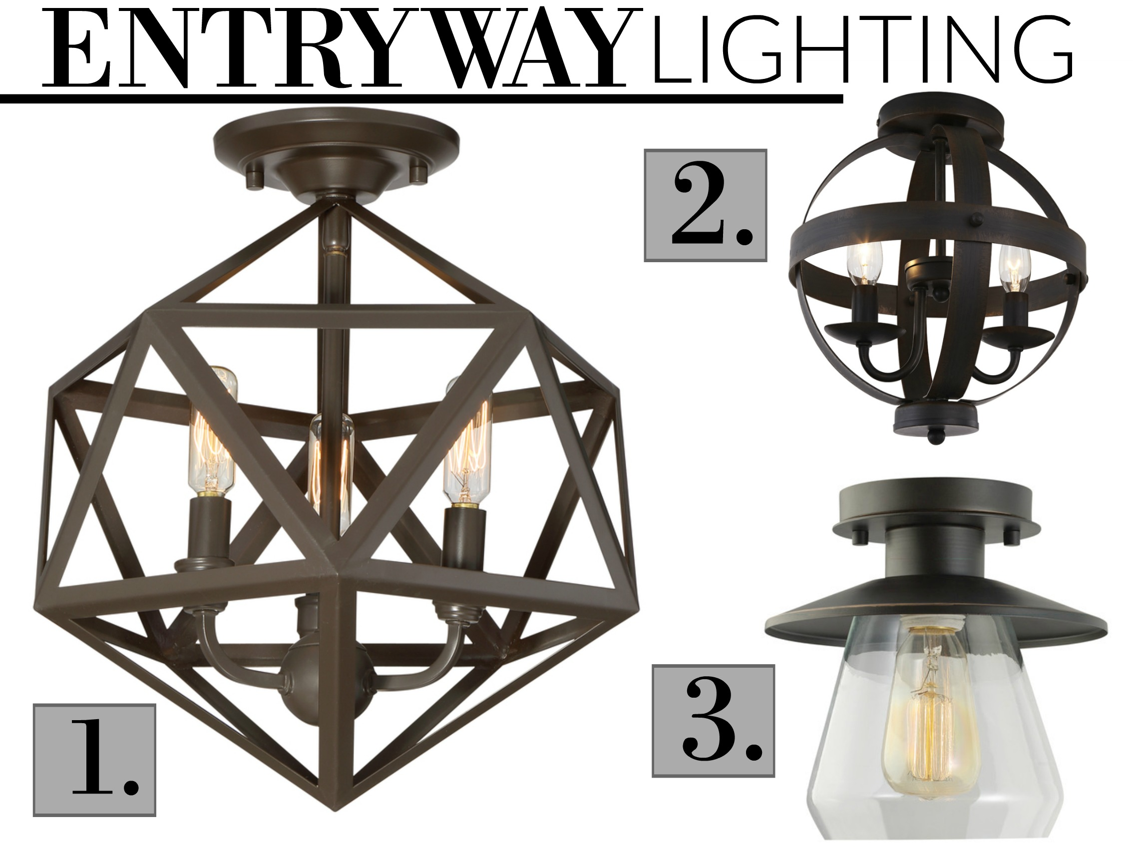 our fixer upper lighting gathered