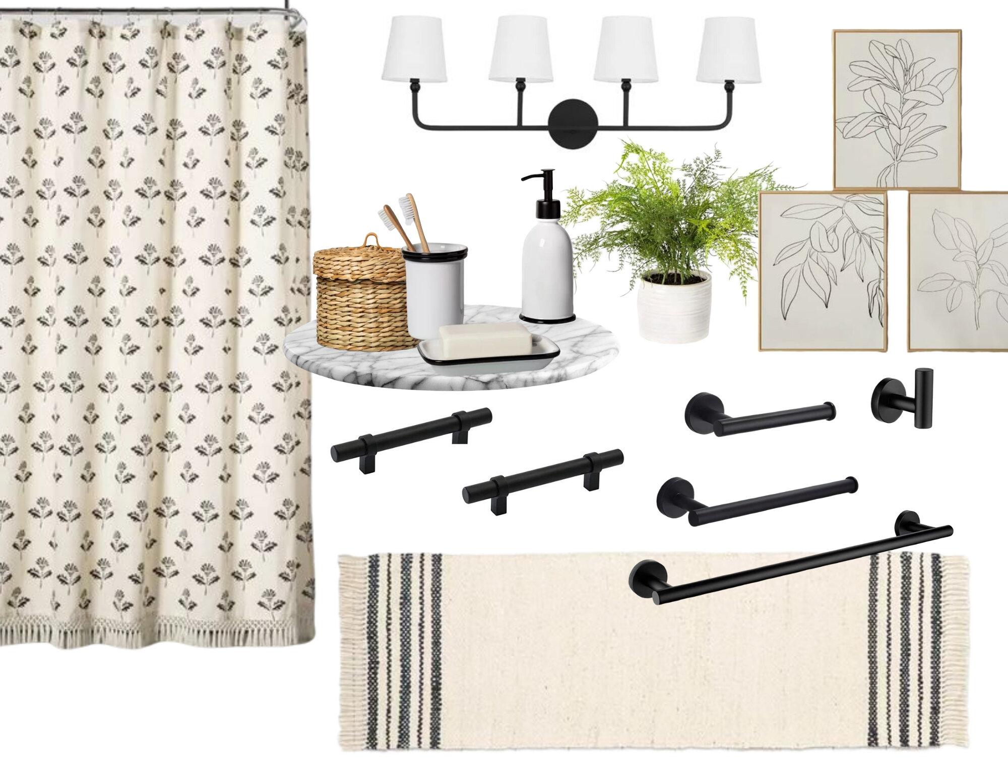 modern farmhouse bathroom blog
