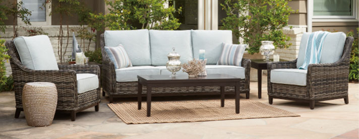 stocked outdoor furniture oasis