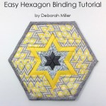 How To Sew A Hexagon Binding Plumeasy