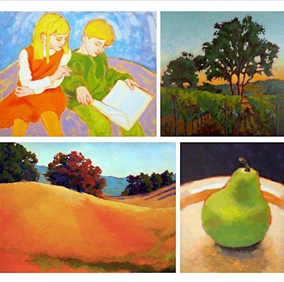 NEW virtual classes — Calistoga Art Center