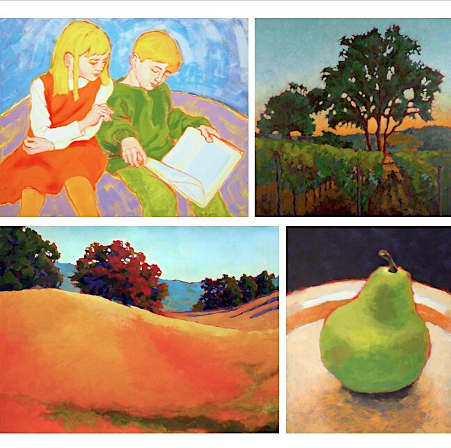 NEW virtual classes — Calistoga Art Center