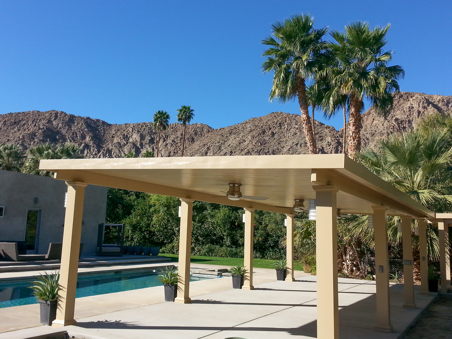 solid roof patio cover pictures