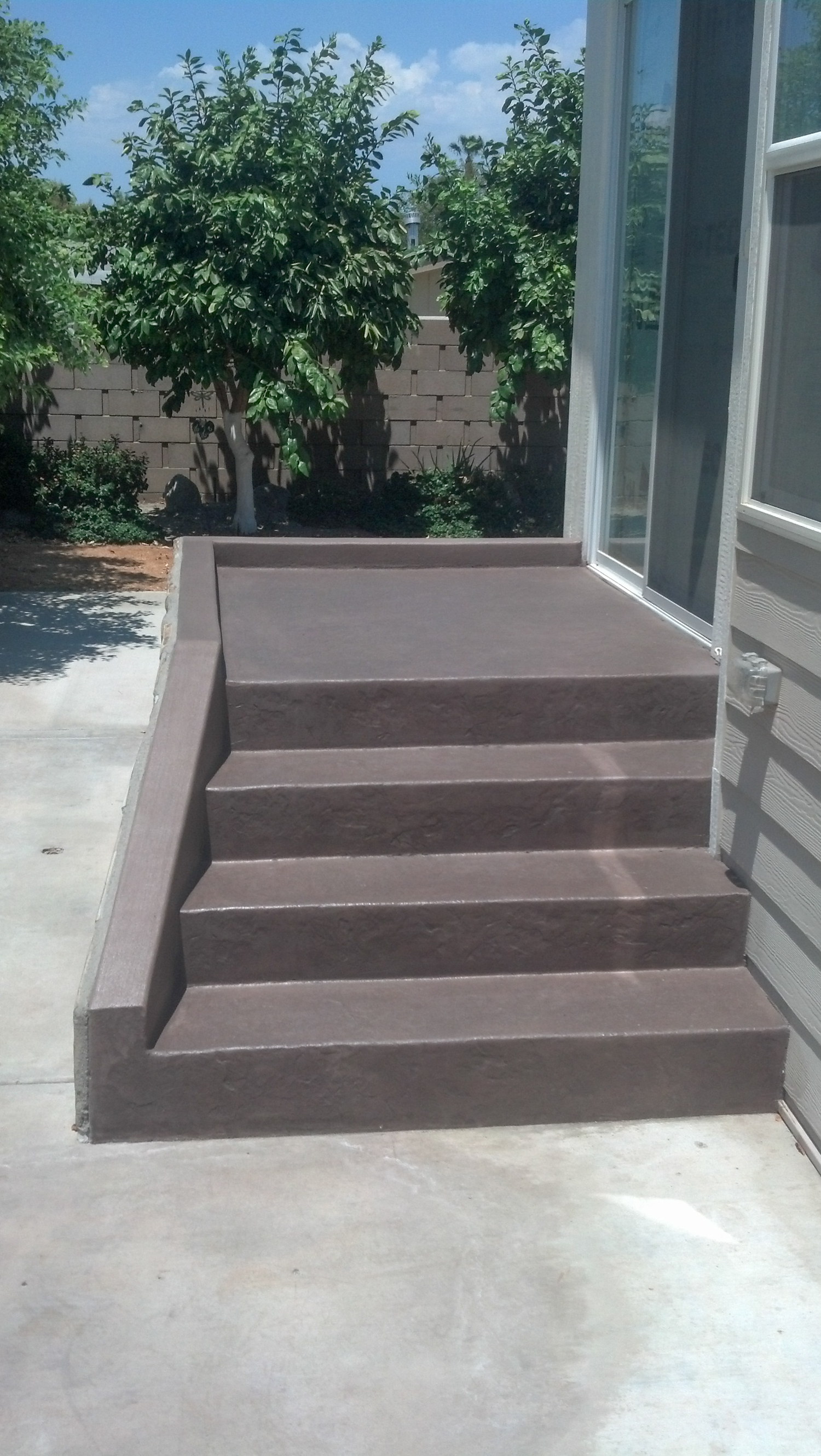 affordable concrete patios valley