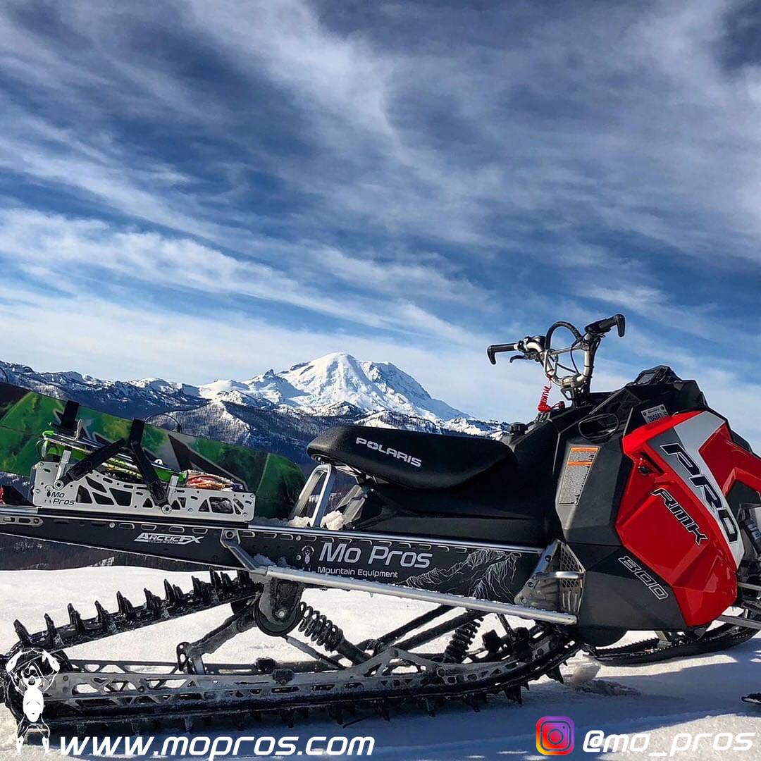 polaris snowboard rack mo pros