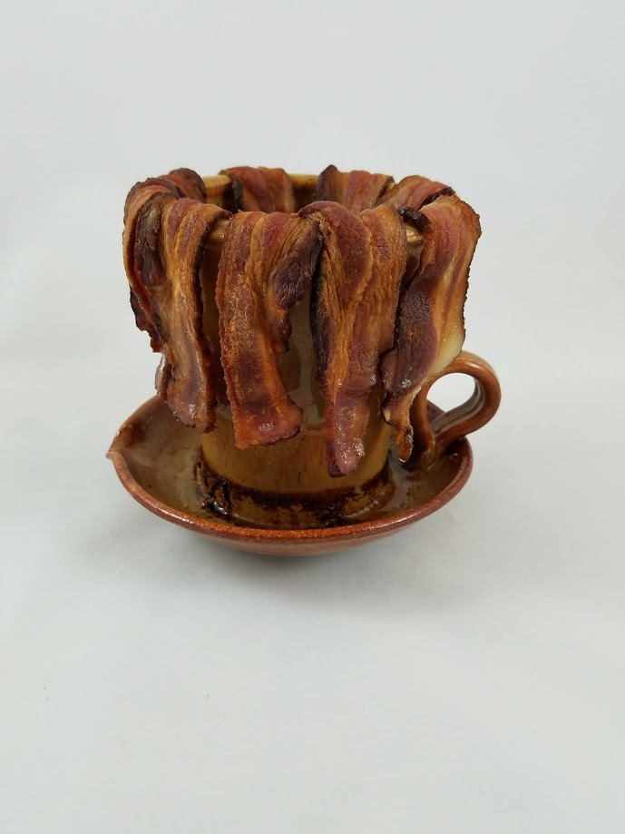 bacon cooker the gourmet potter