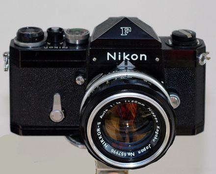 Nikon F sejarah fotografi