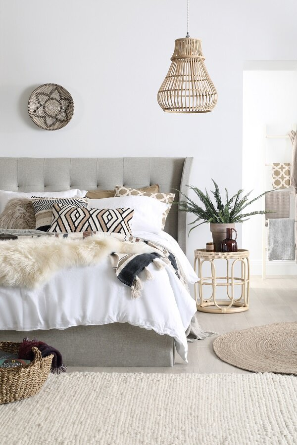 Kenley Bed from  Furniture and Choice