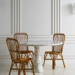 Set Of 6 Bamboo And Rattan Dining Chairs Attributed To Bonacina South Loop Loft