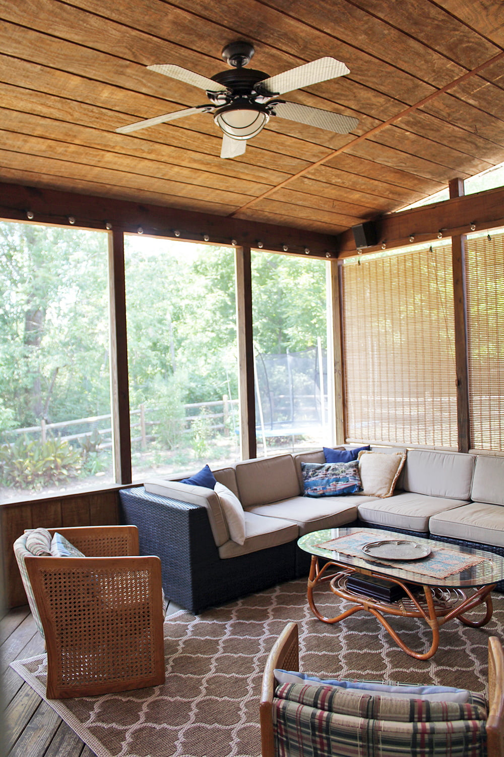 10 Screened In Porch Ideas — Tag & Tibby Design on Covered Back Porch Ideas id=72084