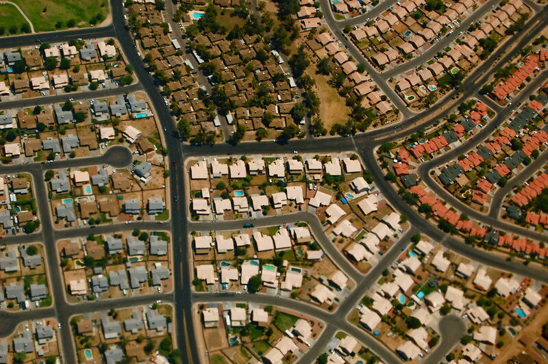 Arizona suburbs. Via Flickr.