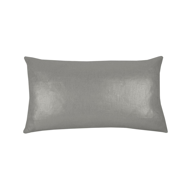 jaguar grey linen pillow 12 x 22 melissabamberhome com
