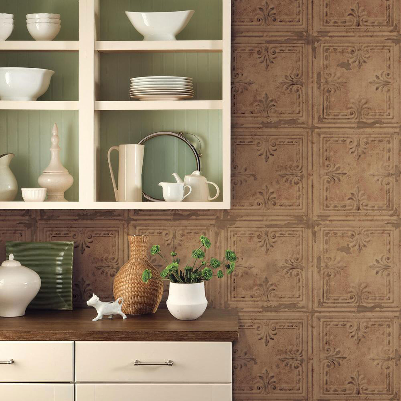 rmk11231wp tin tile peel stick wallpaper jojo design studio