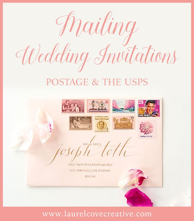 Wedding Invitations And The Usps