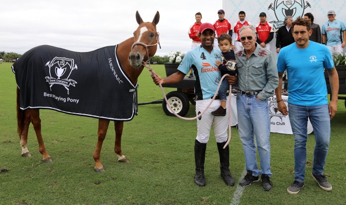 Best Playing Pony Miss America played by Pierre Henri Ngoumou.
