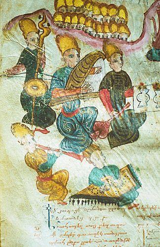 Группа музыкантов, XVI–XVII века