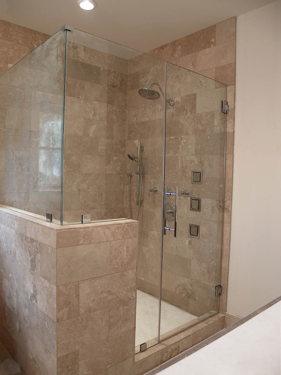 Custom Glass Shower Doors And Enclosures Hinge Bypass