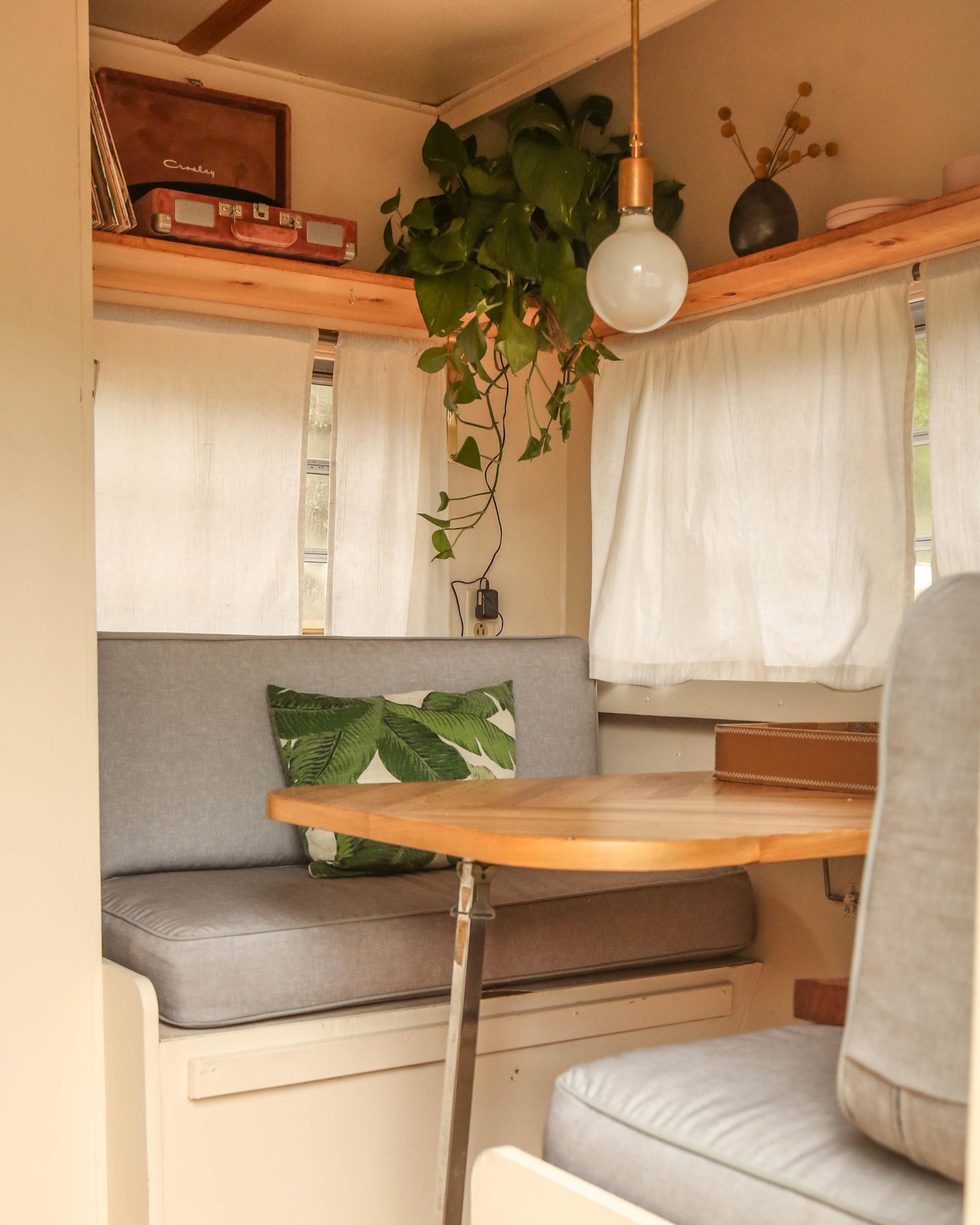 Vintage Camper Renovation Rosie Reveal Probably This