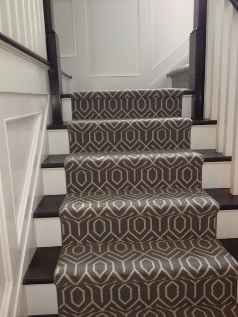 Stair Carpeting — Blog — 844 My Stair | Hardwood Stairs With White Risers | Pine | Tread | Trim | Hardwood Flooring | Before And After