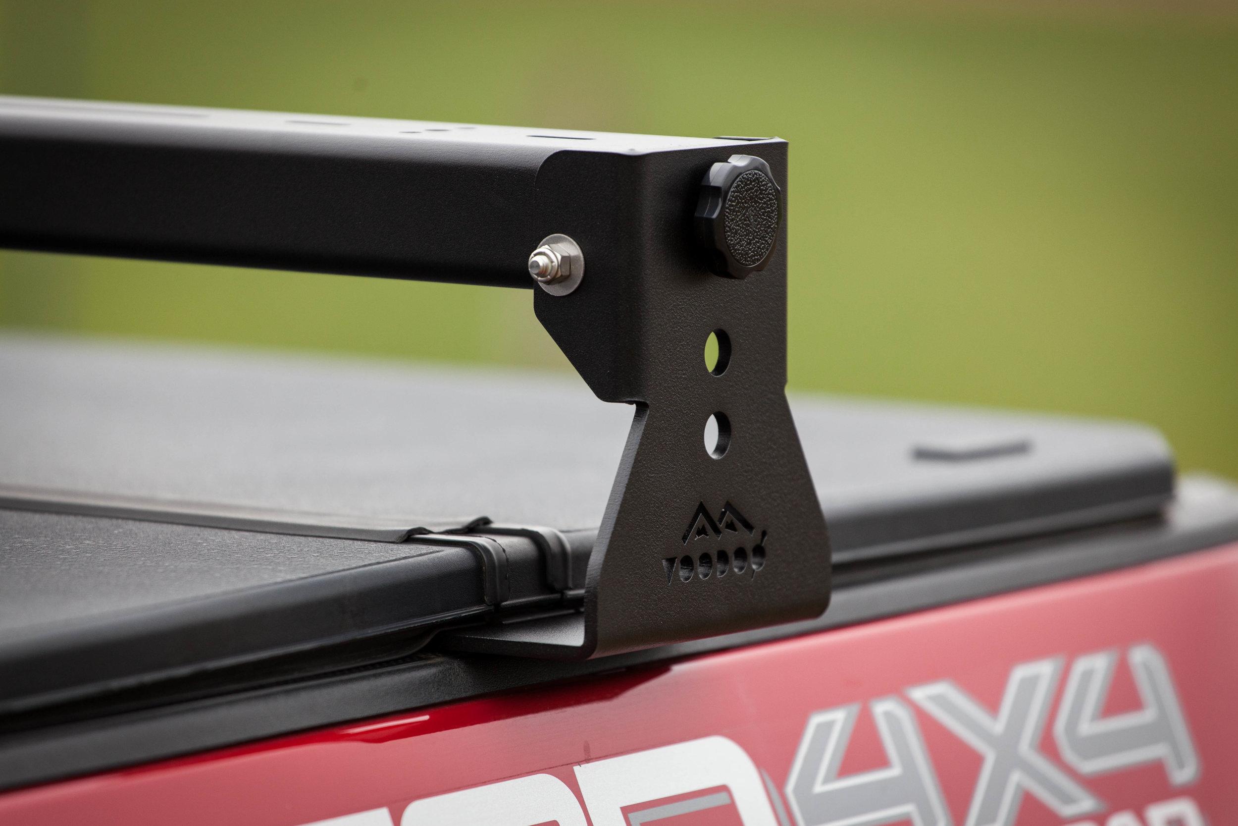 universal truck crossbars for tonneau covers fits all trucks kb voodoo fabrications