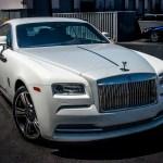 Rolls Royce Wraith White Diamond Dust Incognito Wraps