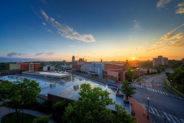 Views of Downtown Auburn, New York
