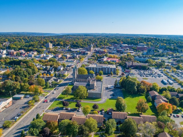 Views of the Beautiful Historic City of Auburn New York