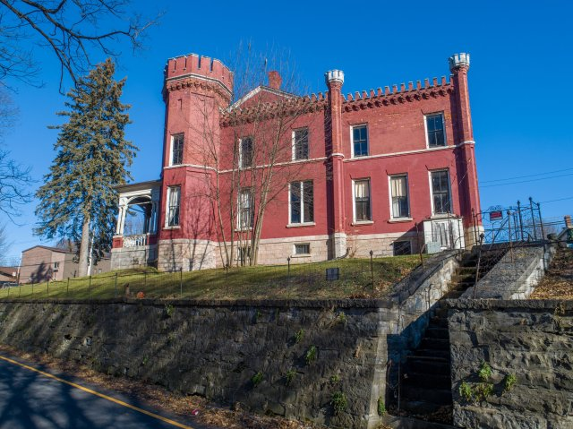 12 Aerial Auburn NY Castle Home For Sale Auction Listings Real Estate Agent Broker Michael DeRosa .JPG