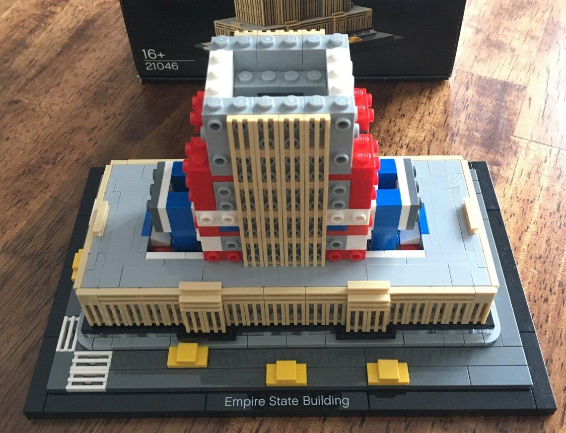 Set Review 21046 1 Empire State Building Architecture Bricks For Bricks