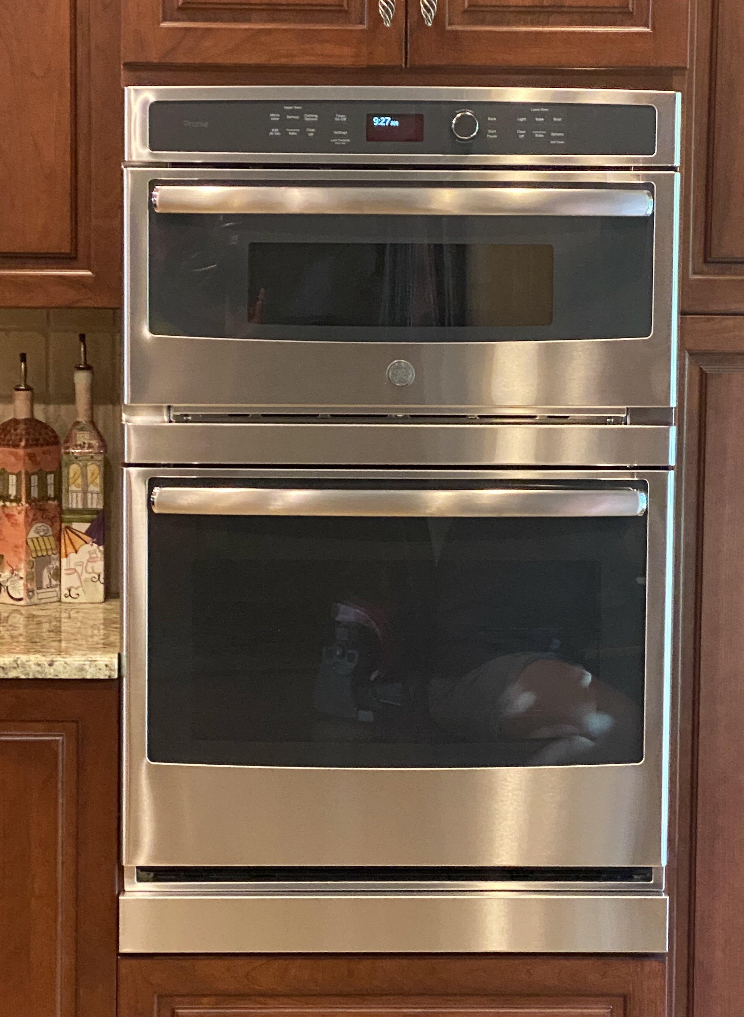 wall oven filler strips photos