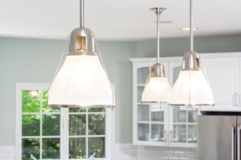 elegant white kitchen renovation