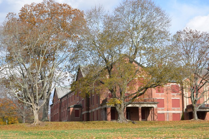 In this photo, the University of Connecticut Depot Campus is pictured. Many of the campus' buildings have sat vacant and unused for years, but are expected to be renovated under the Master Plan, according to plans on the UConn website. (Ashley Maher/The Daily Campus)