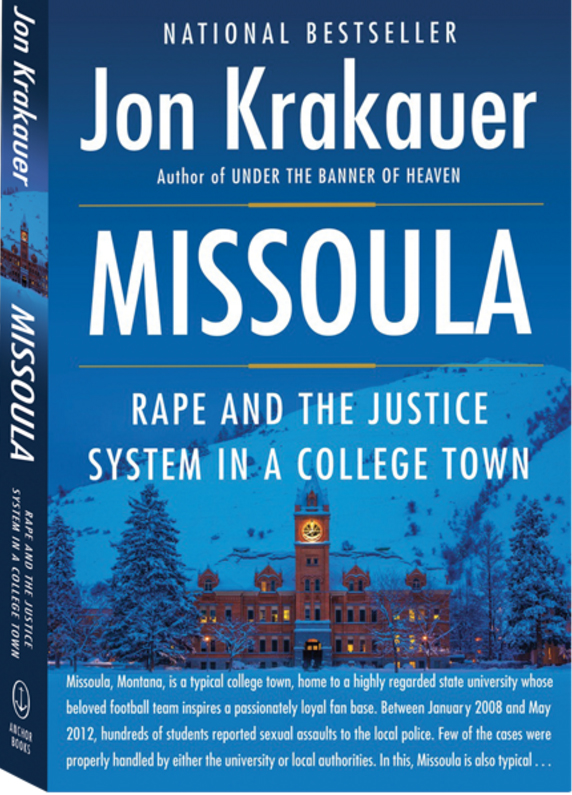 """Jon Krakauer's latest book, """"Missoula:Rape and the Justice System in a College Town,"""" offers a unique perspective to an ongoing problem. (Photo courtesy of Jon Krakauer's website)"""