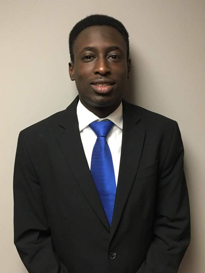 """UConn NABA President Brandon Madden (pictured) planned """"Being Black & Bold in Business"""" to encourage entrepreneurship among young black professionals. (Christopher McDermott/The Daily Campus)"""
