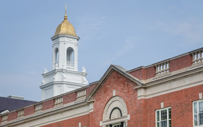 The dome atop the Wilbur Cross Building on the UConn campus in Storrs, Connecticut. (BartokFan/Creative Commons)
