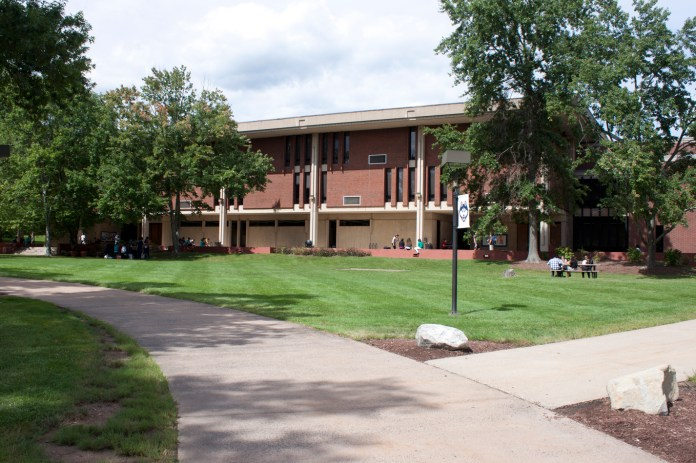 The UConn board of trustees originally voted to increase funding by $25 million for the new Hartford branch campus and sell the West Hartford branch campus, effectively moving the branch campus from West Hartford to Hartford, on November 19, 2016. Above is a file photo of the West Hartford branch.(File photo/Daily Campus)