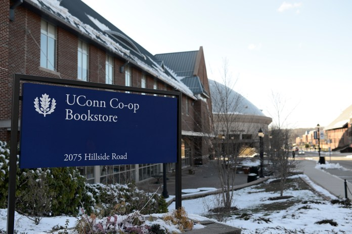 The UConn Co-op Bookstore in Storrs, Connecticut, in a Daily Campus file photo. (Jason Jiang/The Daily Campus)