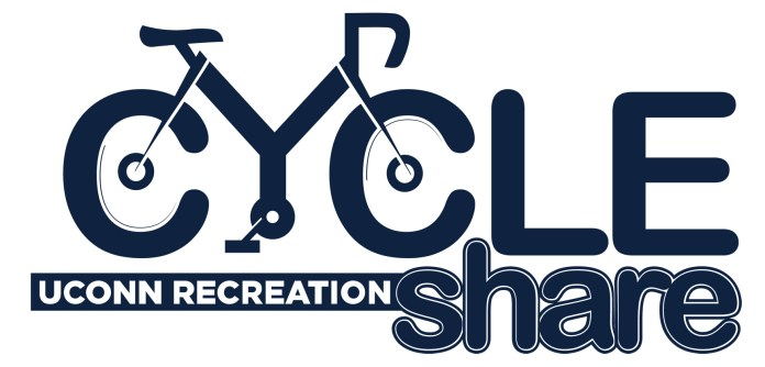 UConn is offering students the opportunity to rent bikes on campus through the Cycle Share Bikes program. (Photo courtesy of  UConn recreation )