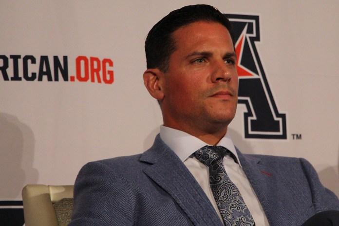 UConn football head coach Bob Diaco. (Photo courtesy of Ian Bethune/The UConn Blog)