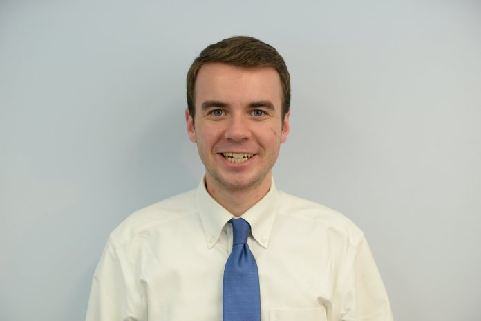 Adam Kuegler, former Vice President of the USG was Kuegler was elected to be UConn's Undergraduate Student Representative on the Board of Trustees in March, 2016. (Amar Batra/The Daily Campus)