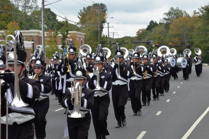 The UConn Marching Band performed in the parade at the Celebrate Mansfield festival, which lasted from noon to 4 p.m. on Sunday, Sept. 18 in Storrs center.(Amar Batra/The Daily Campus)