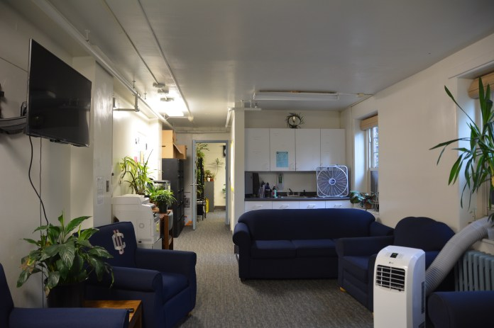 The Residence Hall Association office is located in Whitney Residence Hall in East Campus. (Akshara Thejaswi/The Daily Campus)