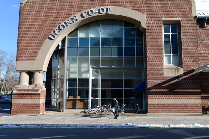 The UConn Co-op, now closed, has used money from its assets to create an affordable textbook initiative. (Jason Jiang/The Daily Campus)