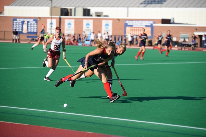 UConn shuts out Temple University 6-0 on Friday, Sept. 23, 2016 at the Sherman Family Sports Complex. The Huskies look to continue their win streak as they take on UMass at home on Wednesday. (Zhelun Lang/The Daily Campus)