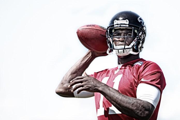 Wide receiver Julio Jones of the Atlanta Falcons. (Atlanta Falcons/ Flickr Creative Commons)